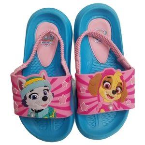 Josmo Kids Paw Patrol Slide Sandals Size 9/10